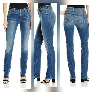 7 For All Mankind Kimmie straight leg size 25 nwot